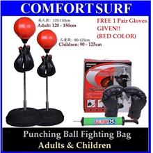 FREE GLOVE + Punching Ball Fighting Bag for Adults & Children Fitness