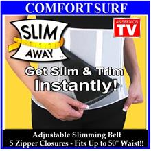 Adjustable wf Unique 5 Zipper Closures Slimming Belt Fat Burn