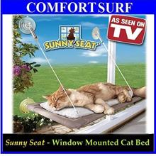 As Seen On TV Home Window Mounted Pet Cat Rest Sleep Bed Sunny Seat