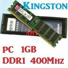 1GB Kingston Desktop PC DDR1 RAM 400Mhz PC-3200 KVR400X64C3A/1G