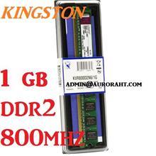 1GB Kingston Desktop PC DDR2 RAM 800Mhz PC-6400 KVR800D2N6/1G Memory