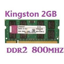 2GB Kingston Notebook Laptop DDR2 RAM 800Mhz PC-6400 KVR800D2N6/2G