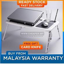 Portable Foldable Laptop E-Table Notebook Desk & Cooler Cooling Fan