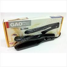 2in1 GaoDeng SL-2000 Straightener & Crimper Iron