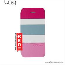 Uniq iPhone 5 iPhone 5S Leather Case - Tropic Party Pink