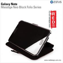 Zenus Galaxy Note i9220 GT-N700 MASSTIGE BLOCK FOLIO - Brown