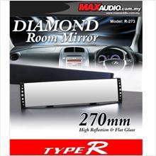 TYPE-R R-273 27 Cm V.I.P Diamond Anti-Glare 3D Wide Angle Rear Mirror