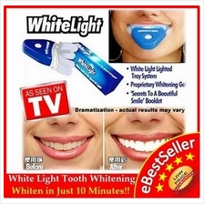 FREE GIFT + White Light Tooth Teeth Whitening Dental Care Gigi