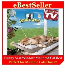 Comfortable Window Mounted Pet Cat Sleeping Rest Bed Sunny Seat