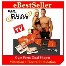 FREE GIFTS Slimming Fitness Device Gym Form Dual Muscle Shaper Belt