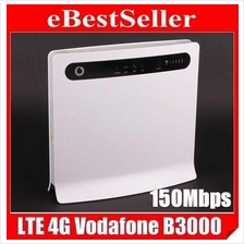 Fastest 150Mbps Huawei Vodafone B3000 B593 4G LTE WIFI Router E5172