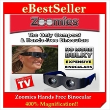 OFFER NOW! Zoomies Hands Free Binocular You Wear Like Sunglasses!