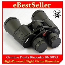 FREE GIFT + Genuine Panda HD Night Vision Binoculars Telescope 20x50WA
