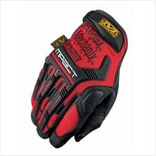 Mechanix Mpact Gloves, Red