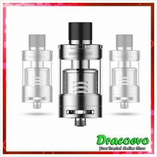 Authentic Vaporesso Giant Dual Tank With RTA Deck Vape Silver Black