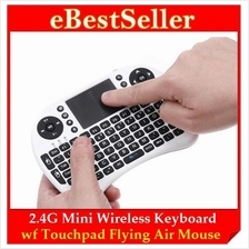 W-shark 2.4G Wii i8 Mini Wireless Keyboard Touchpad Flying Air Mouse