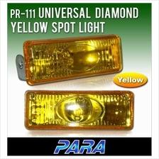 PARA PR-111 4.8x1.5 Yellow Spot Light/ Fog Lamp [Free H3 Bulb]