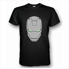 Iron Man Helmet Mark II T-shirt Black