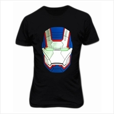 Iron Patriot War Machine Helmet T-shirt