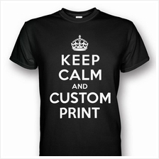 KEEP CALM Customized T-shirt Black