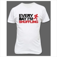 LMFAO Everyday I'm Shuffling T-shirt White
