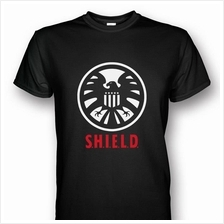 S.H.I.E.L.D White/Red T-shirt