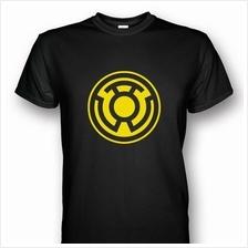 Sinestro Corps Black T-shirt