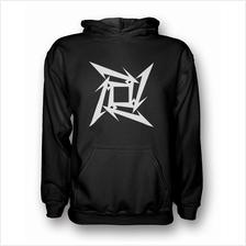 Metallica Ninja Star Hooded Sweatshirt Hoodie