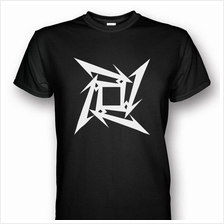 Metallica Ninja Star T-shirt Black