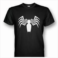 Spiderman Venom Symbol T-shirt White Print