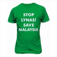 Stop Lynas Save Malaysia T-shirt Green