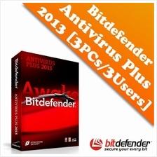 Bit-Defender Antivirus Plus 2013 for 3PCs / 3Users-1Year