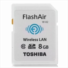 Toshiba Memory Card SD-CARD SDHC [Class 10] 8GB +FLASHAIR WIRELESS