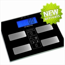 Electronic Body Fat Scale (with BMI Function) Black & White Colour