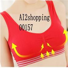 00157Korea orthopedic/breast care yoga exercise Underwear Vests