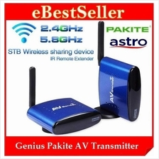 ORI Genius Pakite 5.8G/2.4G Wireless AV Sender Camera AV Transmitter