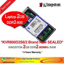 KINGSTON 2GB DDR2-800 NOTEBOOK RAM Memory