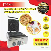 Fresco Heart Shape Waffle Machine