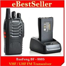 16 Channel BaoFeng Walkie Talkie BF-888S VHF/UHF 5W