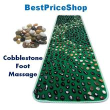 Best Parents Gift REAL Pebble Cobblestone Reflexology Massage Mat