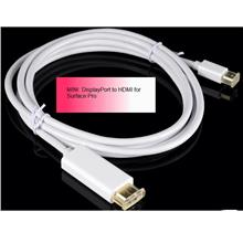 Mini DisplayPort to HDMI for Surface Pro