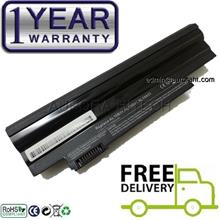 Acer Aspire One AOD260 AOD270 5200mAh Battery 1 Year Warranty (Black)