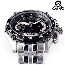 HK CAINO SP-330D SPEED RACING SERIES CHRONOGRAPH MAN S.STEEL WATCH