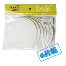 Reusable breast pad 1pack (6pcs)