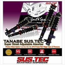 SUSTEC TRACK RACE HI-LOW Adjustable Absorber: PROTON & PERODUA