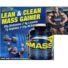 MHP Up Ur MASS 5lbs (Lean Weight Gainer Amino+BCAA) protein protin