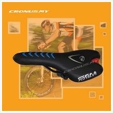 [CRONUS.MY] NEW BICYCLE SEAT SADDLE BLACK FOR 24' TO 29' BIKE