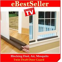 Buy 1 FREE 1 Gift - Twin Draft Door Guard Blocking Dust & Clean Strip