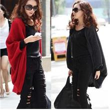 ALCL08 BatWing Knit Cardigan - 6 colors Available)