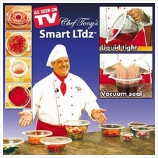 Smart Lidz Safe/Leak Proof Vacuum Seal lids 4 pc